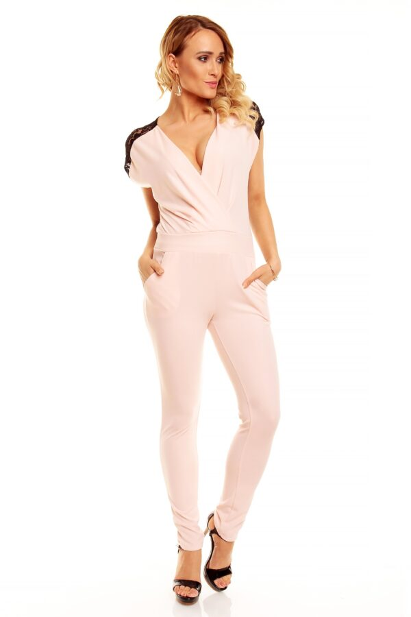 Overall-E-Land-1534-rosa-schwarz-1-Stueck