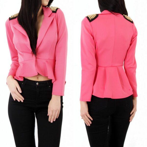 faa1c8b3a9b Neetidega peplum jakk – Lisa Fashion
