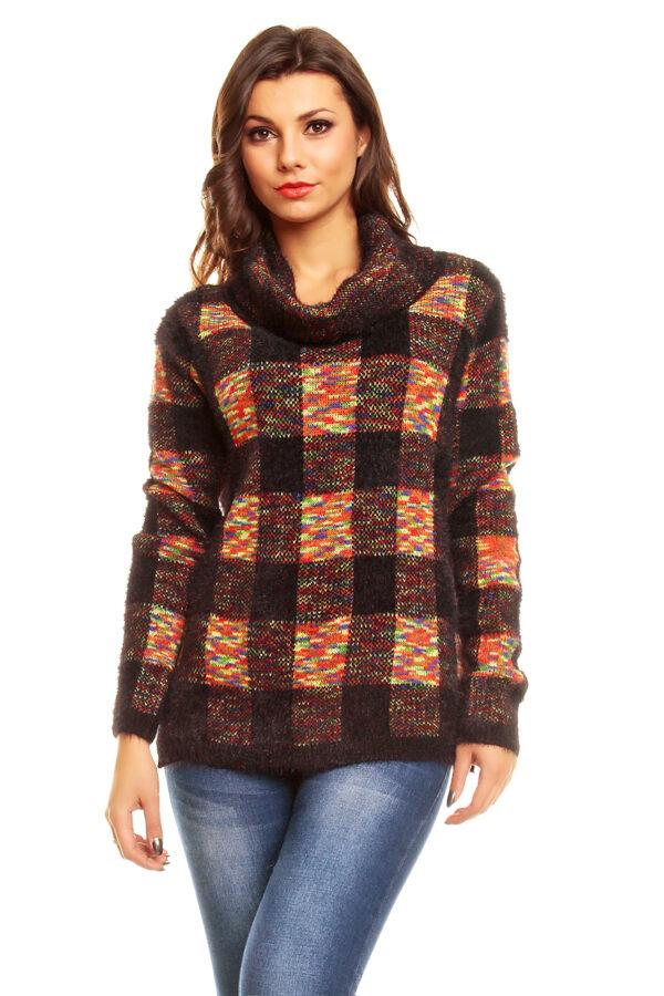 pullover-luzabelle-3384-schwarz-rot-1-stueck