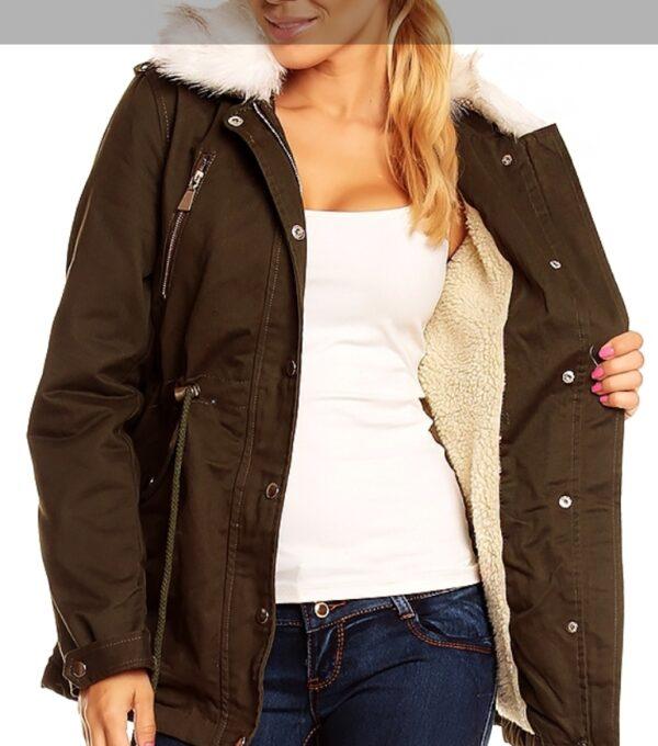 jacket-voyelles-3b098-with-fur-khaki-s~41