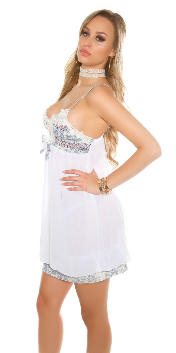 iimini_dress_in_Babydoll_look__Color_WHITE_Size_Einheitsgroesse_0000A202038_WEISS_36