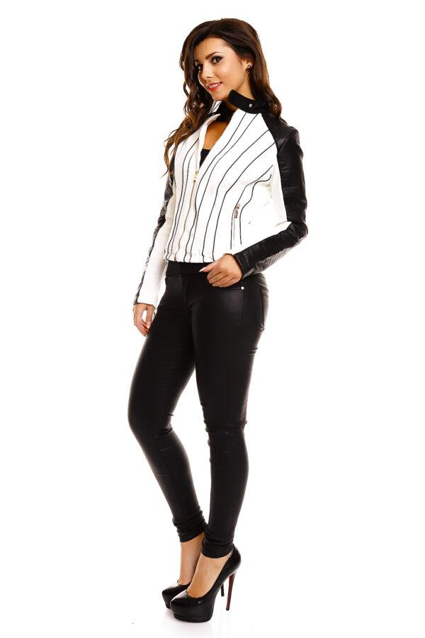 jacket-leder-chic-et-jeune-cv8253-white-black-4-pieces~4