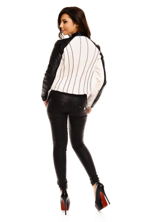 jacket-leder-chic-et-jeune-cv8253-white-black-4-pieces~5
