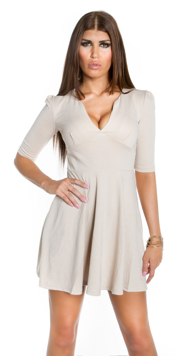 ooKoucla_flared_skirt_mini_dress__Color_BEIGE_Size_L_0000K18319_BEIGE_4