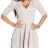 ooKoucla_flared_skirt_mini_dress__Color_BEIGE_Size_L_0000K18319_BEIGE_7