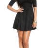 ooKoucla_flared_skirt_mini_dress__Color_BLACK_Size_L_0000K18319_SCHWARZ_19