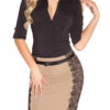 ooKouCla_pencilskirt_with_band_and_lace__Color_CHOCOLATE_Size_40_0000ISF-SK521_SCHOKO_40