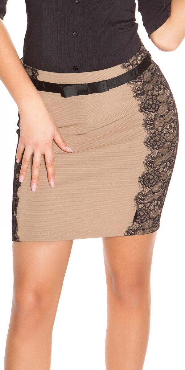 ooKouCla_pencilskirt_with_band_and_lace__Color_CHOCOLATE_Size_40_0000ISF-SK521_SCHOKO_50