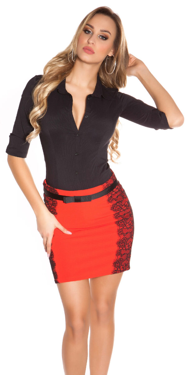 ooKouCla_pencilskirt_with_band_and_lace__Color_RED_Size_34_0000ISF-SK521_ROT_29