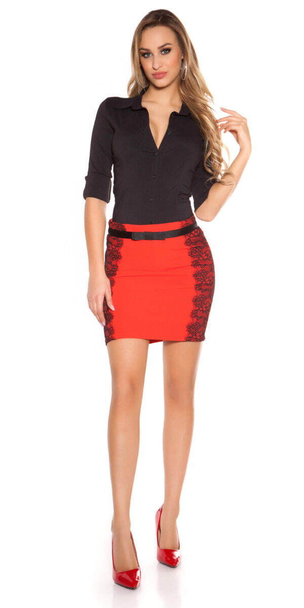 ooKouCla_pencilskirt_with_band_and_lace__Color_RED_Size_34_0000ISF-SK521_ROT_33