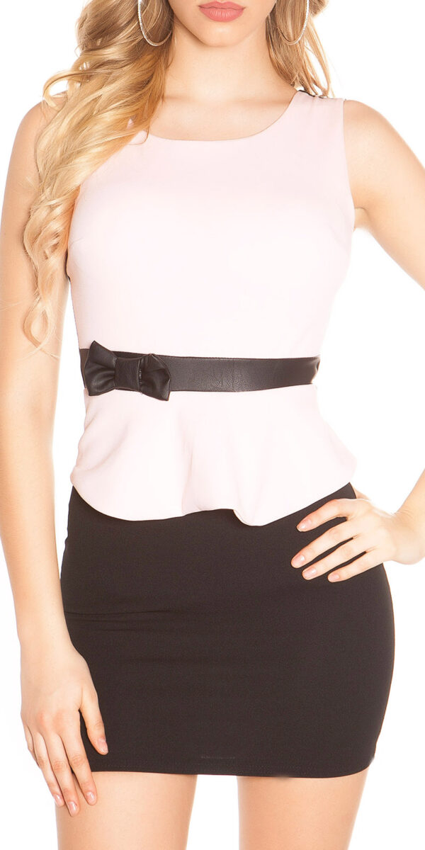 ooKoucla_sheath_dress_with_shirttailBow__Color_PINK_Size_L_0000J11052-N_ROSA_11