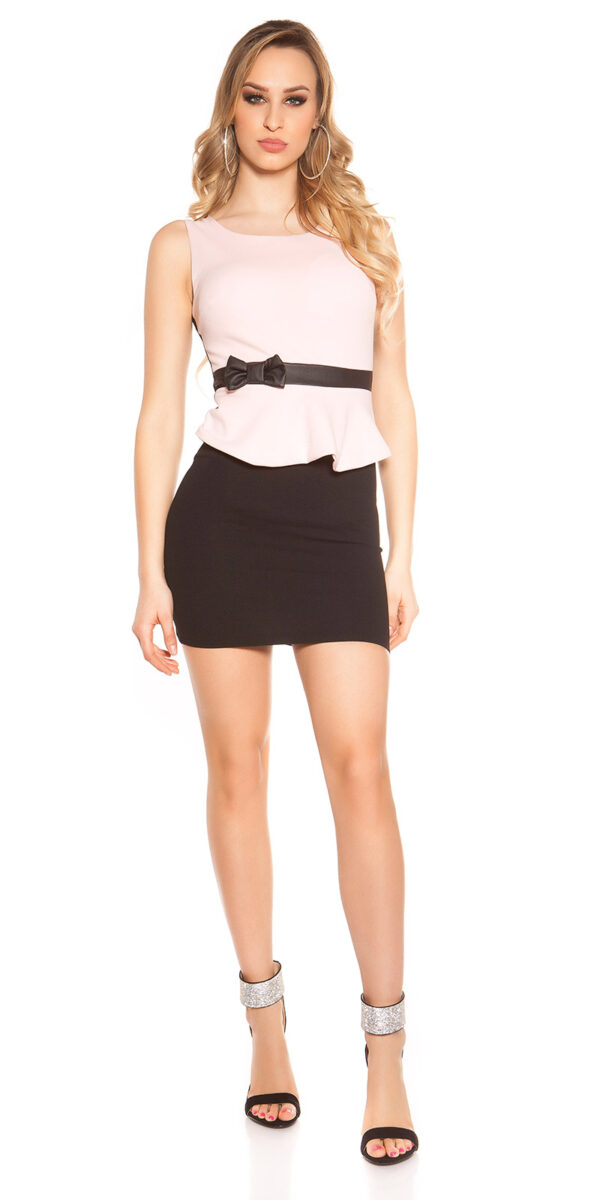 ooKoucla_sheath_dress_with_shirttailBow__Color_PINK_Size_L_0000J11052-N_ROSA_4