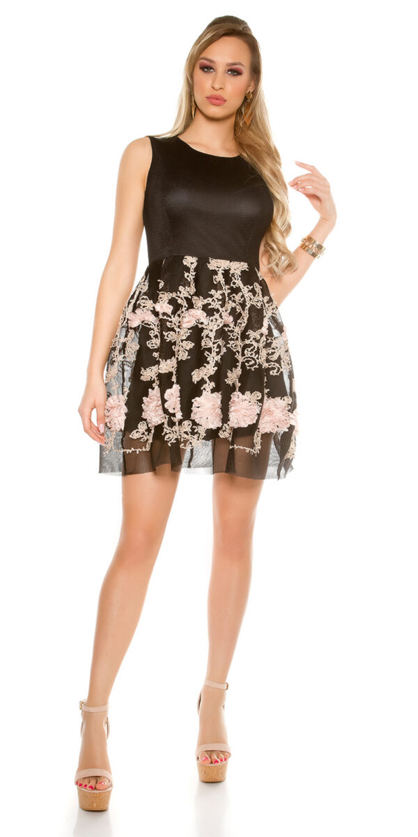 eeMesh_Skater_Mini_Dress_with_Embroidery__Color_BLACK_Size_ML_0000R140_SCHWARZ_11