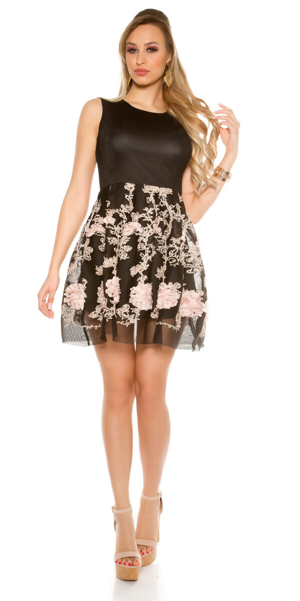 eeMesh_Skater_Mini_Dress_with_Embroidery__Color_BLACK_Size_ML_0000R140_SCHWARZ_3