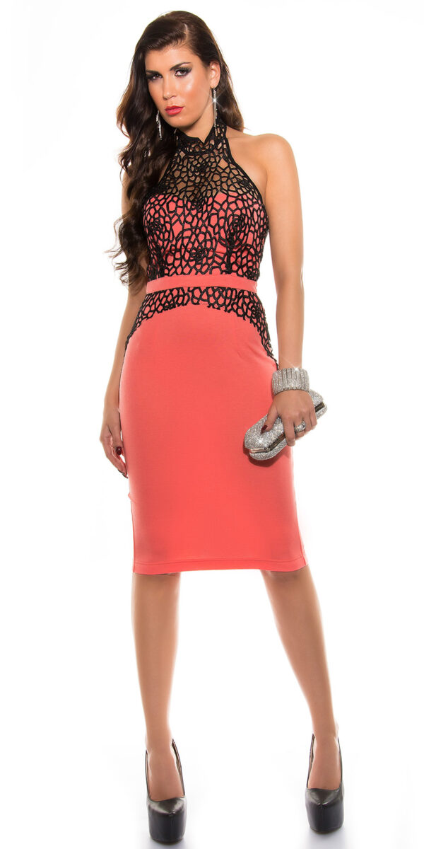 ooKouCla__midi_Pencildress_with_crochet__Color_CORAL_Size_14_0000K18307_CORAL_14