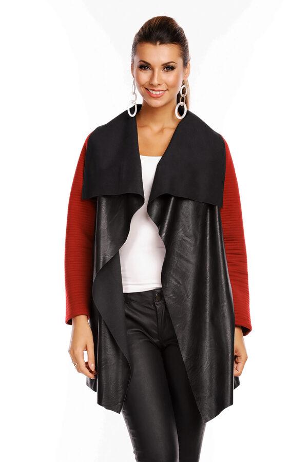 jacket-trenchcoat-g1-moda-6314-black-bordeaux-1-pieces