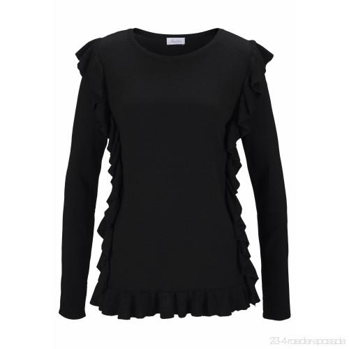 aniston-rundhalspullover-mit-ruschen-verziert-damen-pullover-in-weicher-feinstrick–17701-500x500_0
