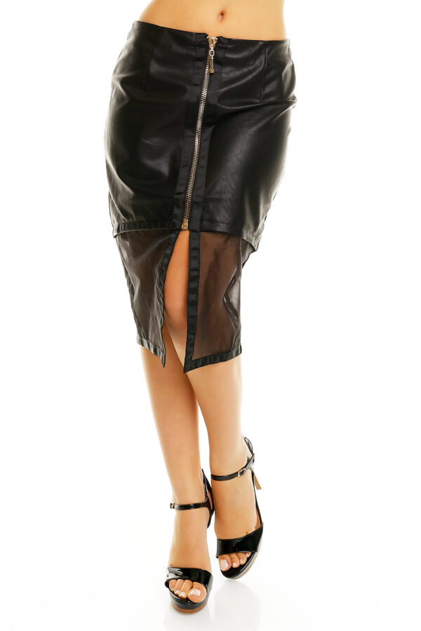 skirt-leather-drole-de-copine-16382-black-3-pcs
