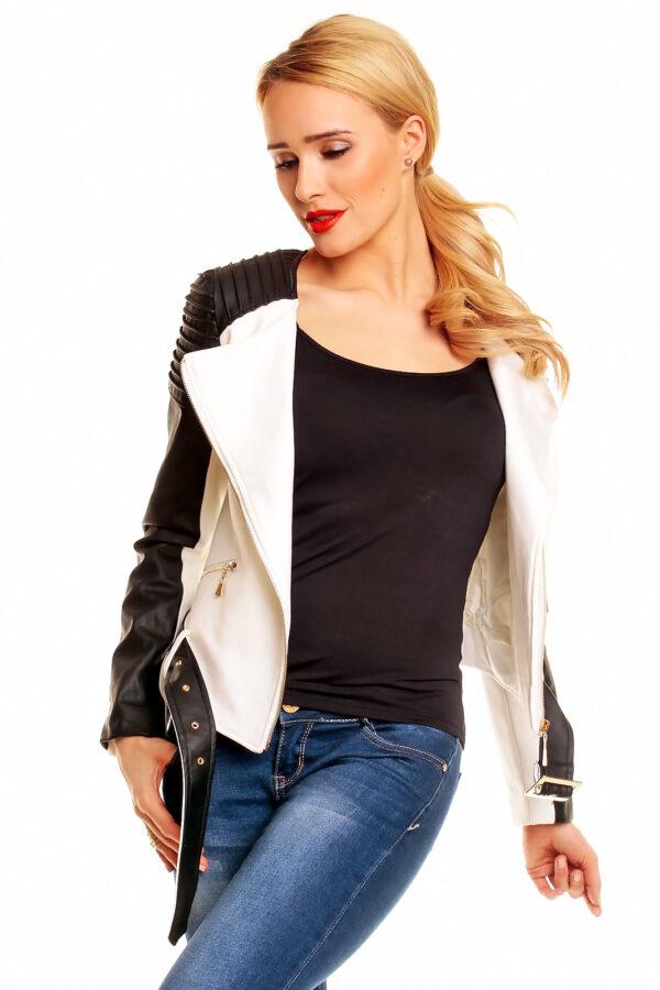 jacket-kilky-leder-gp115-creme-black-3-pcs