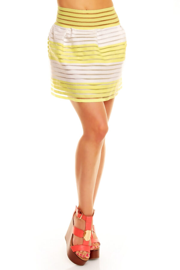 skirt-lucce-lc-6016-yellow-white-2-pcs