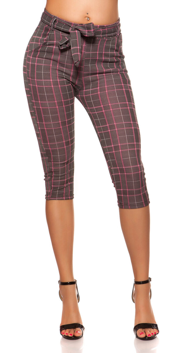 aaCapri_Treggings_checkered_business_look__Color_FUCHSIA_Size_LXL_0000ENLEG7-68728_PINK_15