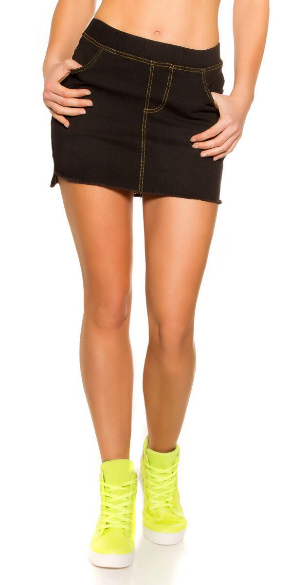 eeJeans-Mini_skirt_Used_Look_with_pockets__Color_BLACK_Size_LXL_0000ENJUPE-10_SCHWARZ_36