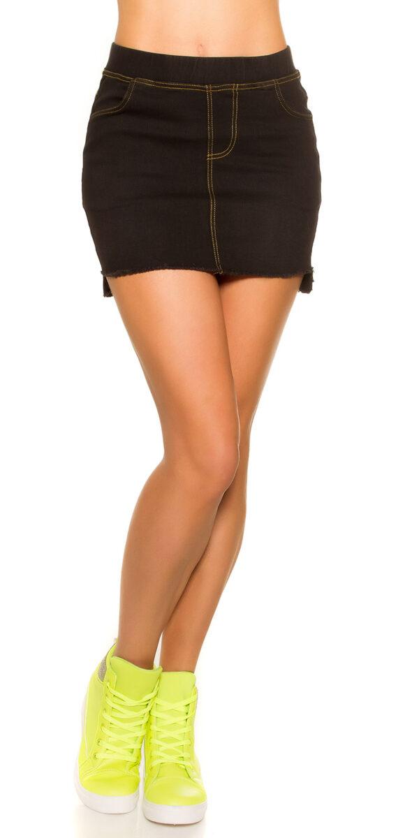 eeJeans-Mini_skirt_Used_Look_with_pockets__Color_BLACK_Size_LXL_0000ENJUPE-10_SCHWARZ_37