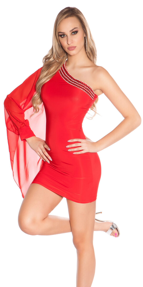 nnOne-Arm_Minidress_with_rhinestoneborder__Color_RED_Size_ML_0000ISF1518-N_ROT_47