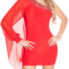 nnOne-Arm_Minidress_with_rhinestoneborder__Color_RED_Size_ML_0000ISF1518-N_ROT_48