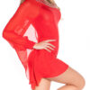 nnOne-Arm_Minidress_with_rhinestoneborder__Color_RED_Size_ML_0000ISF1518-N_ROT_52