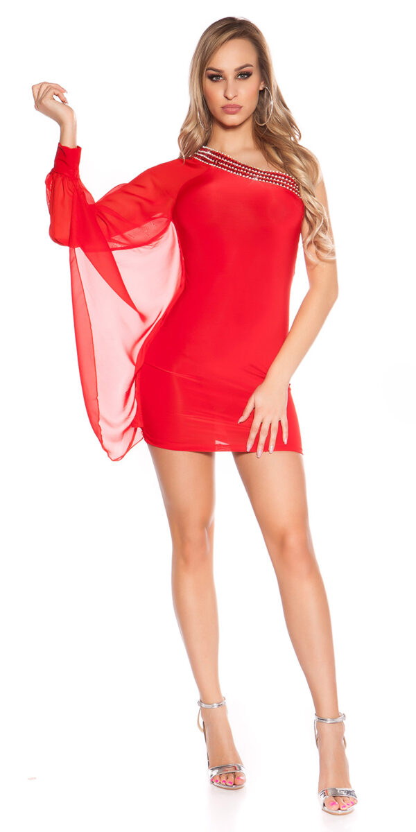 nnOne-Arm_Minidress_with_rhinestoneborder__Color_RED_Size_ML_0000ISF1518-N_ROT_53