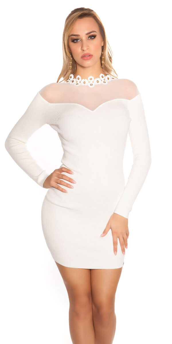 ooKouCla_fine_knit_dress_w_mesh__crochet_deco__Color_WHITE_Size_Einheitsgroesse_0000ISF9008_WEISS_56
