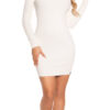 ooKouCla_fine_knit_dress_w_mesh__crochet_deco__Color_WHITE_Size_Einheitsgroesse_0000ISF9008_WEISS_59