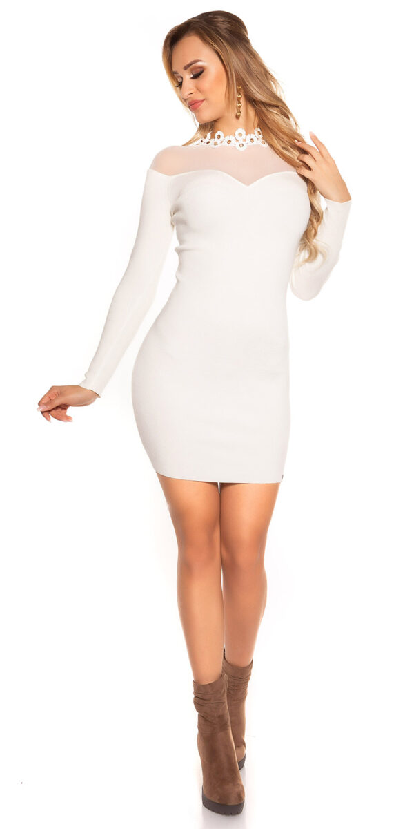 ooKouCla_fine_knit_dress_w_mesh__crochet_deco__Color_WHITE_Size_Einheitsgroesse_0000ISF9008_WEISS_62