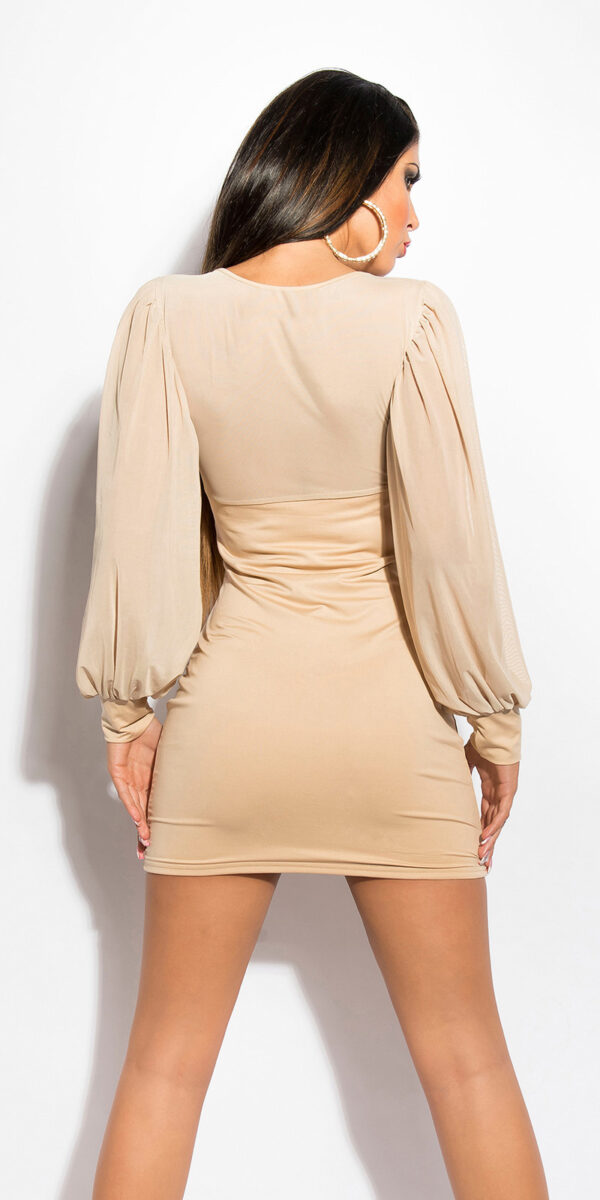 ooKouCla_minidress_with_puffy_sleeves__Color_BEIGE_Size_Onesize_0000KO-02828_BEIGE_2_1