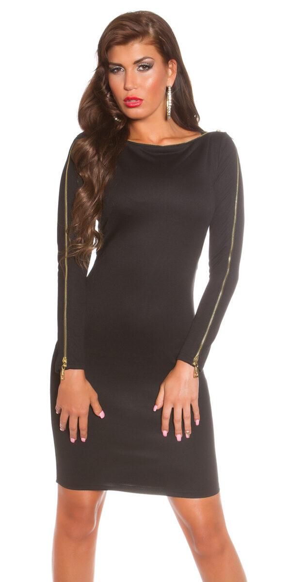 ooKoucla_dress_with_zip__Color_BLACK_Size_8_0000K18553_SCHWARZ_19