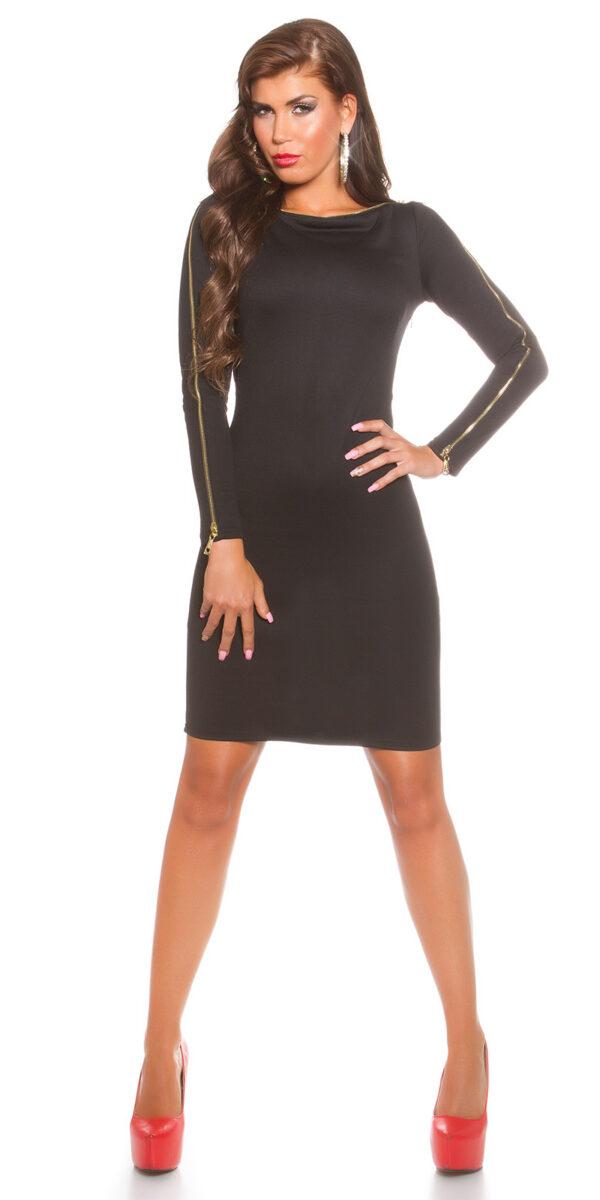 ooKoucla_dress_with_zip__Color_BLACK_Size_8_0000K18553_SCHWARZ_22