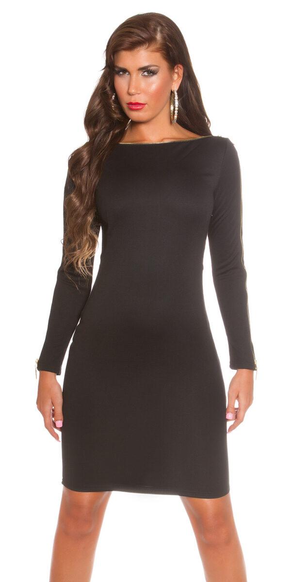 ooKoucla_dress_with_zip__Color_BLACK_Size_8_0000K18553_SCHWARZ_28