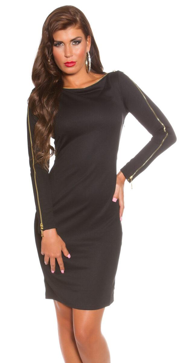 ooKoucla_dress_with_zip__Color_BLACK_Size_8_0000K18553_SCHWARZ_31