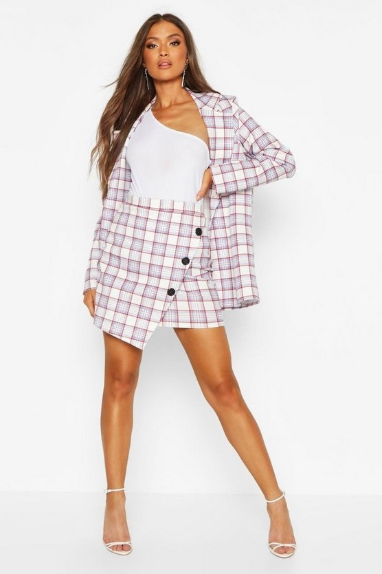 blue-check-button-front-wrap-over-mini-skirt