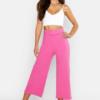 bright-pink-petite-self-belt-wide-leg-trouser