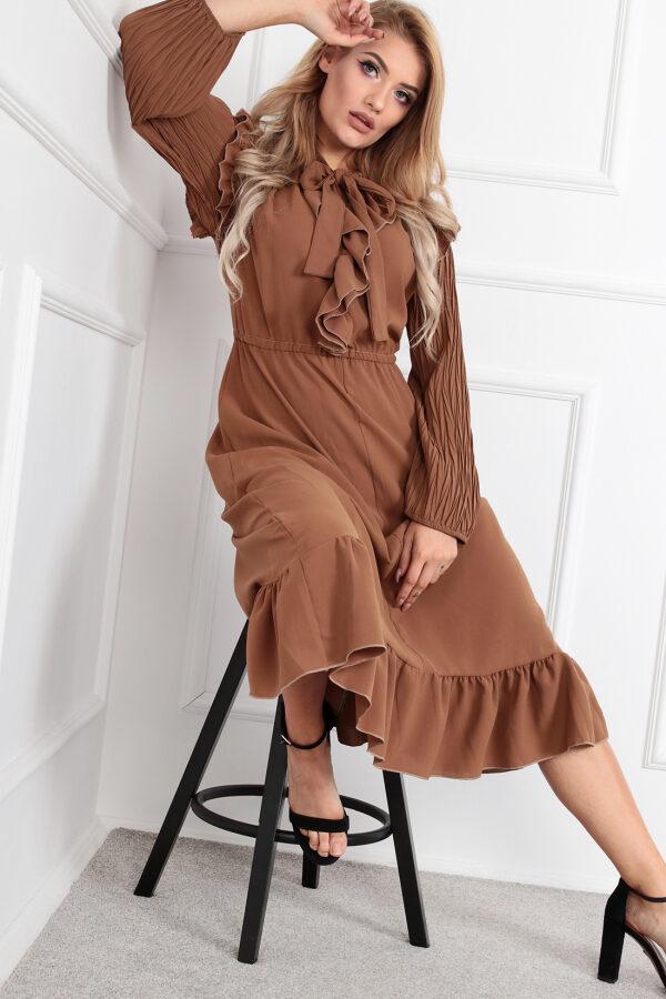 sukienka-z-plisowanymi-rekawami1