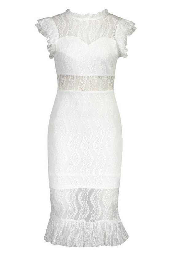 white-all-over-lace-short-sleeve-midi-dress2