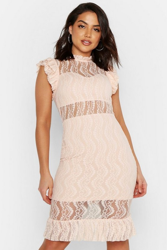white-all-over-lace-short-sleeve-midi-dress3