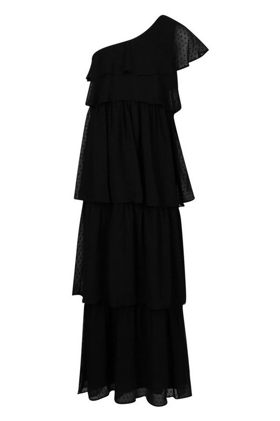 black-dobby-one-shoulder-extreme-tiered-maxi-dress2