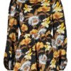 black-large-floral-balloon-sleeve-playsuit2