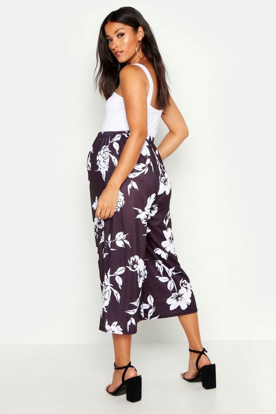 black-maternity-floral-culotte1
