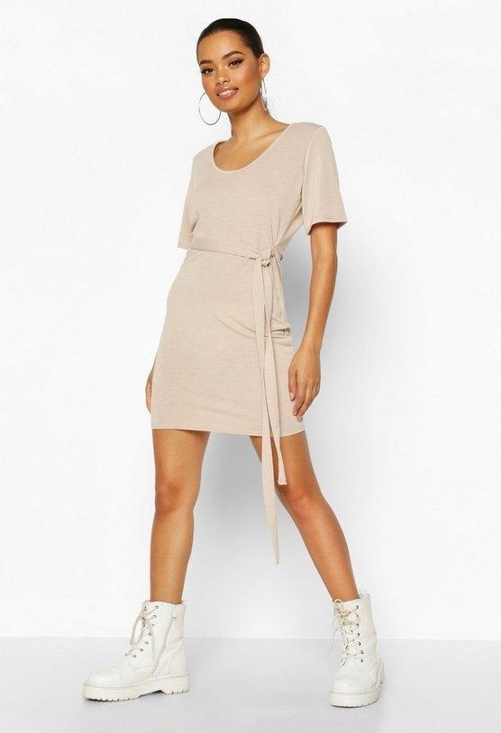 stone-brushed-plunge-short-sleeve-mini-dress