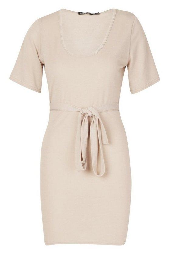 stone-brushed-plunge-short-sleeve-mini-dress2