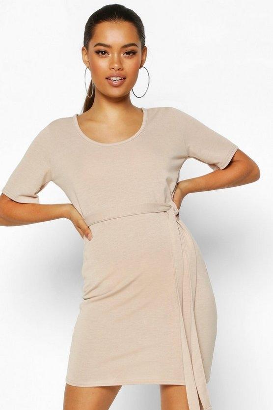 stone-brushed-plunge-short-sleeve-mini-dress3